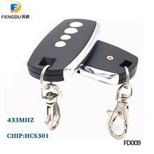 2 ピース/ロットローリングコード HCS301 DC12V 433.92 433mhz のリモートコントロール電動ドアロック