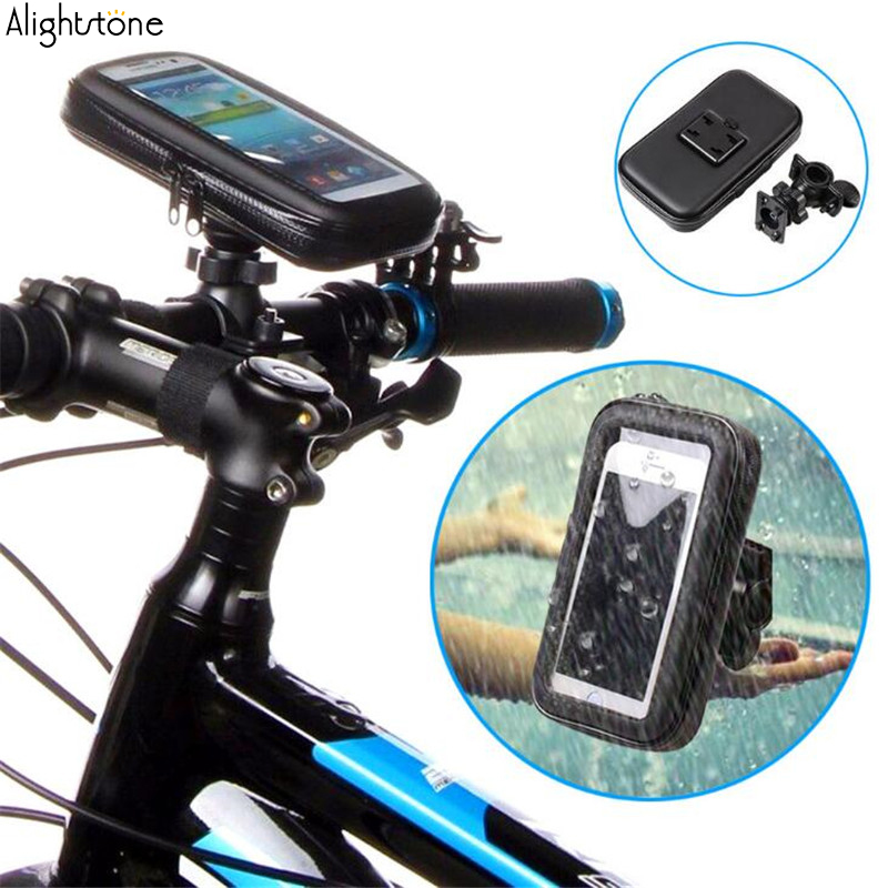 Universal Mobile Phone Bags Waterproof Bike Bicycle Phone Holder Cases For iPhone HTC Samsung