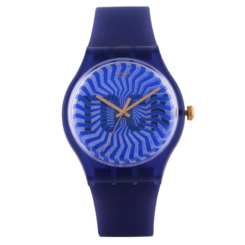 Swatch Watch Original Colorful Quartz Watch SUON119 swatch original colorful quartz watch suob135