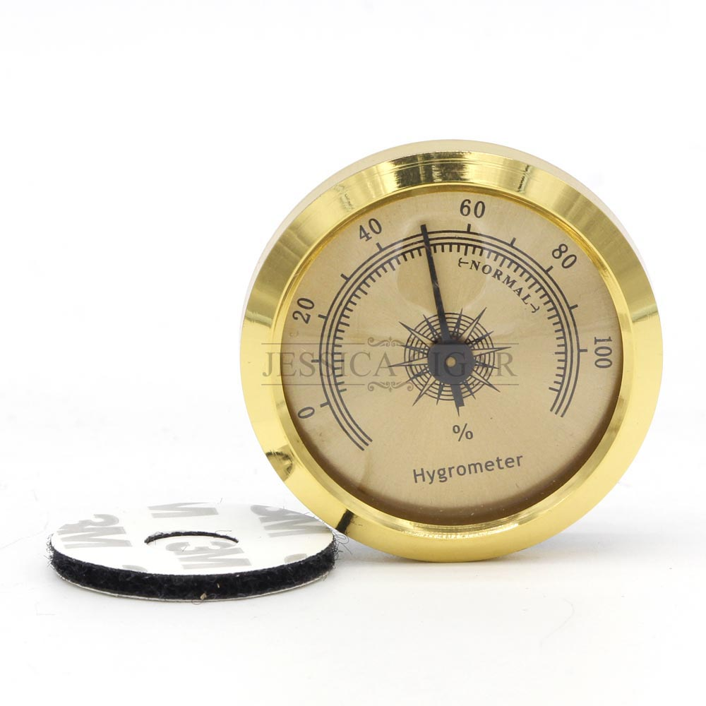 GALINER Professional Cigar Hygrometer Accurate Mini Portable Mechanical Humidor Hygrometers For Cigar Humidor Accessories