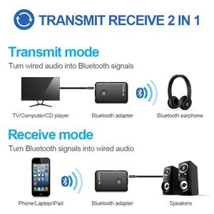 Image 5 - Adaptateur transmission et réception sans fil Bluetooth AUX 2 en 1, adaptateur Audio, Jack 4.2 3.5mm, pour Tables, TV, maison, système sonore, voiture, stéréo