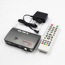 2018 novo DVB-T2 DVB-T ligar o HDMI AV cassete TV de suporte USB HDMI MPEG4 TV set-top box para TV