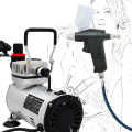 Economy Airbrush Set ABK-115 Air Compressor Kit Commercial Arts Body Painting Temporary Tattoos