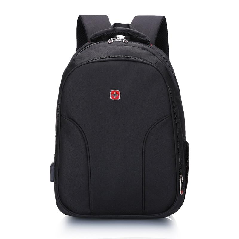Latest Swiss School Backpack for Teenagers Girls Boys Waterproof Travel Bag Swiss 15.6 inch Laptop Backpack Gear Backpack Male