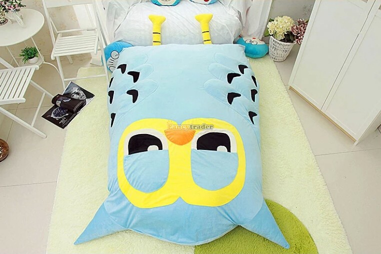 Fancytrader 2015 New High Quality Owl Toy 200cm X 150cm Giant Huge Owl Tatami Bed Carpet Sofa, Great Gift! Free Shipping FT90354