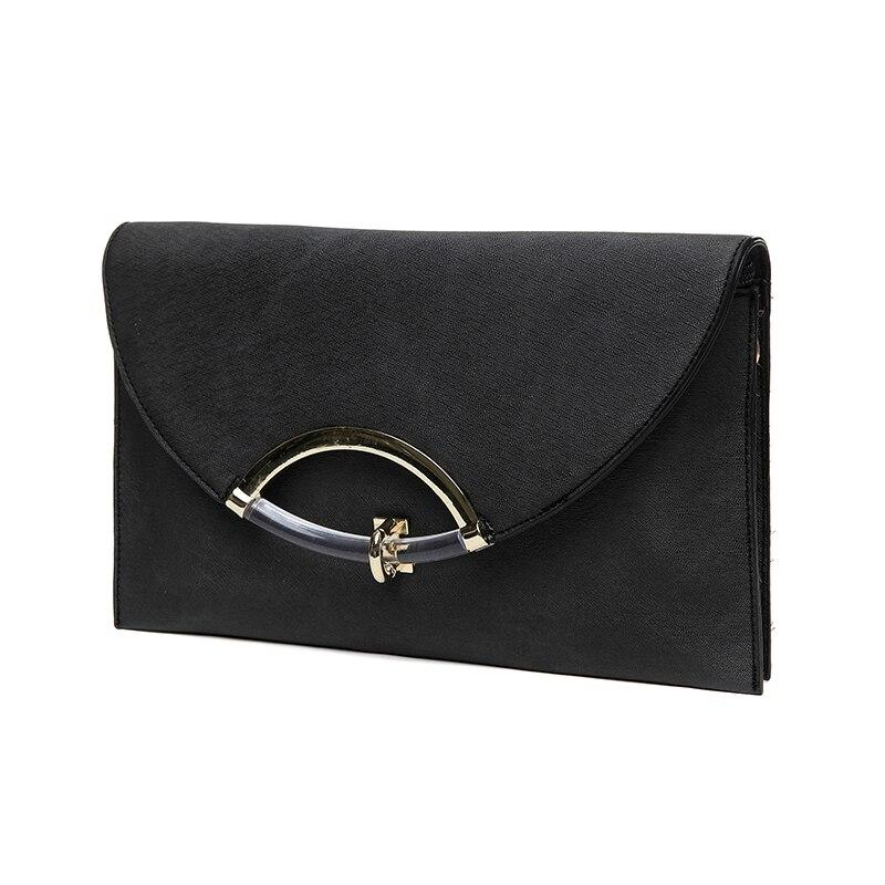 2017 Nova moda ženske torbe s kopčom Pu kože Žene koverta - Torbe - Foto 5