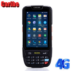 Caribe Rugged Android Handheld PDA Wireless 1D Barcode Scanner Multi functional Data Terminal