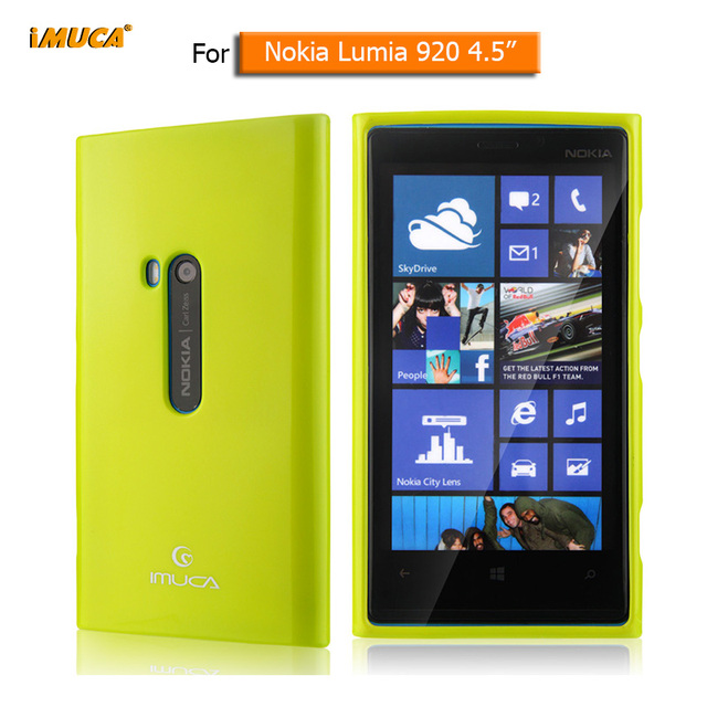 reputable site dc785 5de5c US $6.21 |For Nokia Lumia 920 case cover soft tpu cases for nokia lumia 920  silicone cover back housing mobile phone accessories capa-in Half-wrapped  ...