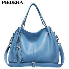 купить New Tassels Real Leather Women Shoulder Bags Fashion Women Hand Bag Genuine Leather Female Bag Ladies Bags Wholesale по цене 2838.42 рублей