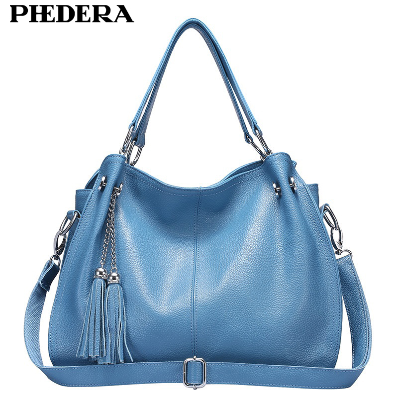 New Tassels Real Leather Women Shoulder Bags Fashion Women Hand Bag Genuine Leather Female Bag Ladies Bags Wholesale