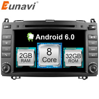 Eunavi 2 Din Octa 8 Core Android 6 0 1 Car DVD GPS For Mercedes Benz