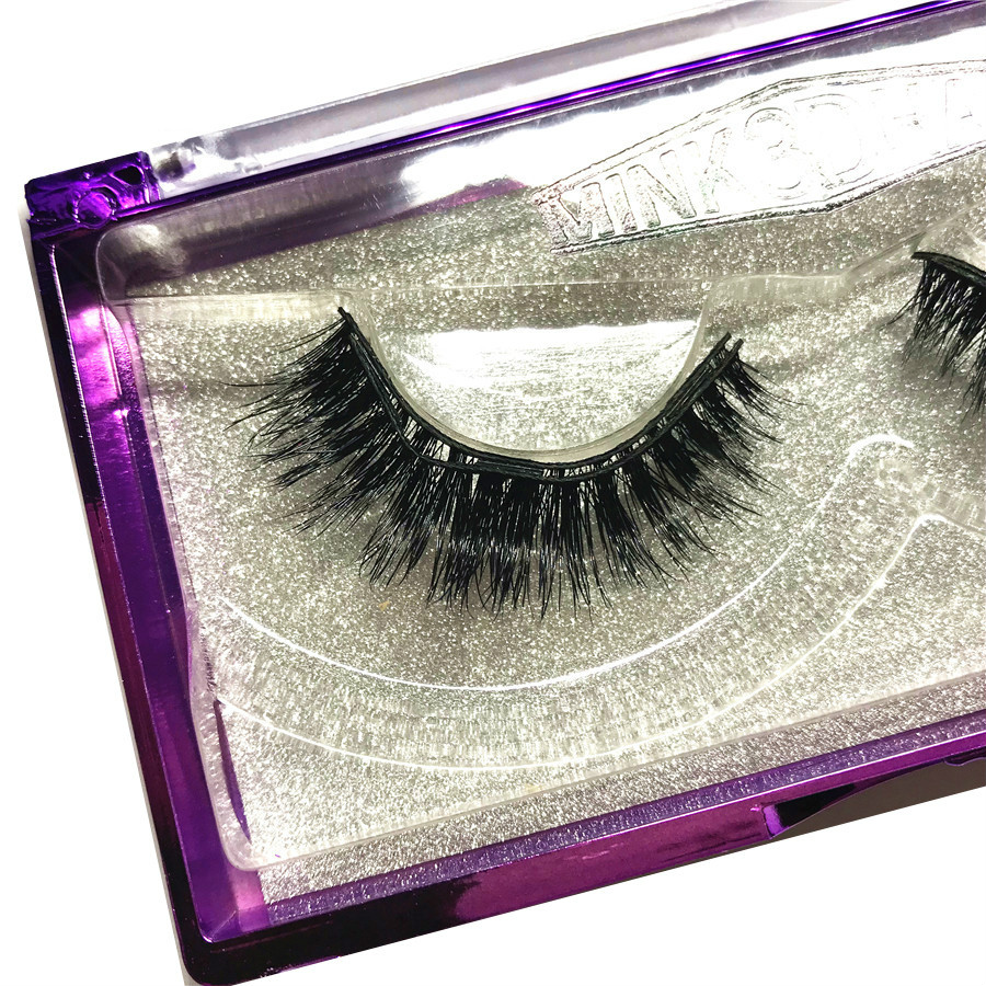affd743a8f1 Aliexpress.com : Buy 2018 New C16 style 3D mink three magnet false eyelashes,  Elegant appearance, reusable Magnetic Eye Lashes Eyelashes on magnets from  ...