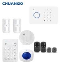 Chuango G5 315 МГц дома охранной сигнализации системы беспроводные датчик двери сирена комплект