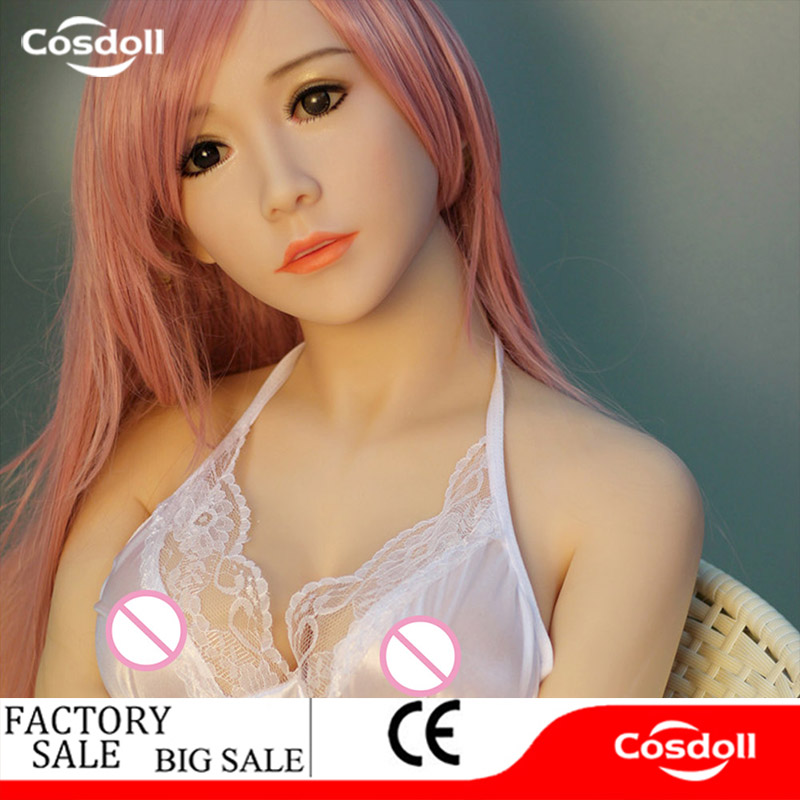 Cosdoll 140cm Opened Mouth Lifelike Real Sex Doll, Full Size Silicone with skeleton Love Doll, Oral Vagina Pussy Anal Adul Dolls cosdoll 148cm nana lifelike real sex doll full size silicone with skeleton love doll oral vagina pussy anal adul dolls for men