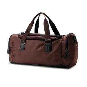 Image 3 - SPORTSHUB Top PU Leather Mens Sports Bags Gym Bags Classic Sports HandBag Fitness Travel Bags Workout Shoulder Bag SB0029
