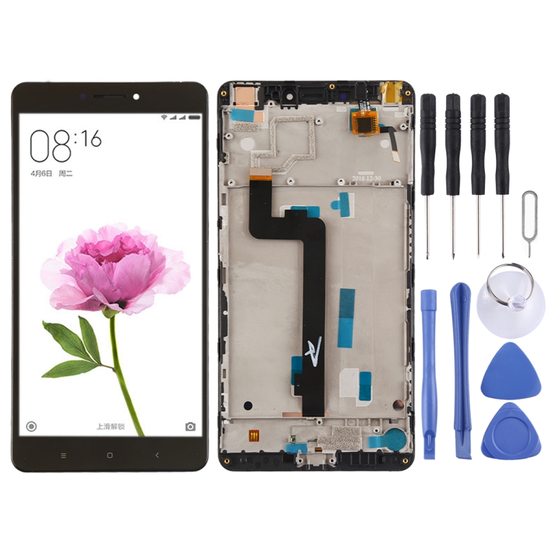 High Quality LCD Screen and Digitizer Full Assembly Lcd Replacement Glass with Frame For Xiaomi Mi Max With ToolsHigh Quality LCD Screen and Digitizer Full Assembly Lcd Replacement Glass with Frame For Xiaomi Mi Max With Tools