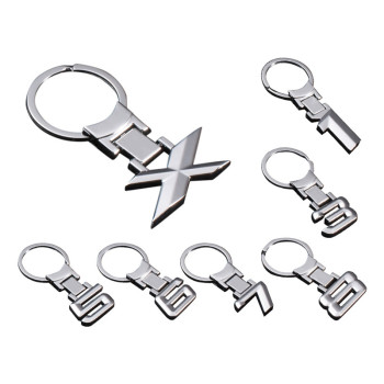 Zinc Alloy Key Rings Keychain Car Emblem Key Chain For BMW Logo E30 E32 E34 E36 E38 E39 E46 E60 E65 E84 E90 E91 E92 X1 X3 X5 Z3 image