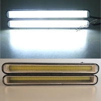 12W COB Daytime Running Light Universal Hot Ultra Bright Waterproof 6500K LED Car Driving Work Strobe
