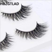 13 diversi stili Sexy 100% Handmade 3D visone dei capelli di Bellezza di Spessore Lungo Ciglia di Visone Ciglia Finte Ciglia Ciglia di Alta qualità