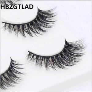 Image 1 - 13 diversi stili Sexy 100% Handmade 3D visone dei capelli di Bellezza di Spessore Lungo Ciglia di Visone Ciglia Finte Ciglia Ciglia di Alta qualità