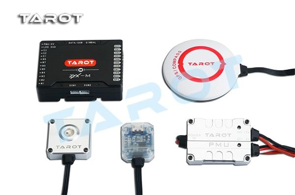 Tarot ZYX-M More rotorcraft Flight control ZYX25 Main Controller GPS PMU LED Indicator light USB for RC Multirotor FPV tarot zyx bd 2 4g bluetooth data transmission module with 5 8g antenna for zyx m flight controller quadcopter drone rc fpv zyx27