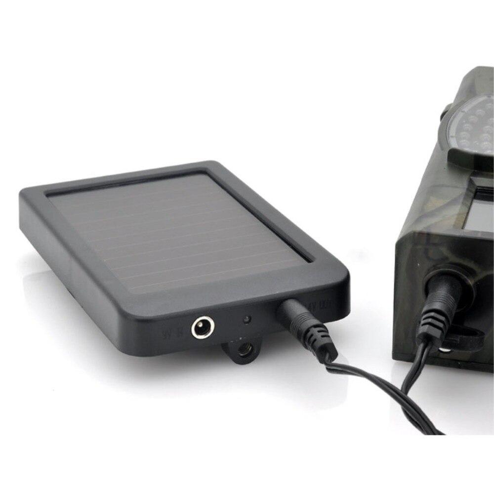 HC300M HC550M/G Photo-Pièges de Chasse Jeu Caméra Batterie Panneau Solaire Chargeur Externe Solaire Power Panel pour Sauvage Trail Caméra