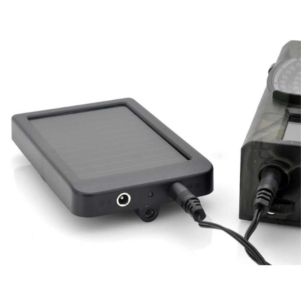 HC300M HC550M/G Foto-Trappole Gioco di Caccia Batterie per Foto/Videocamera caricatore Del pannello Solare Esterno Di energia Solare pannello Per sentiero Selvaggio macchina fotografica