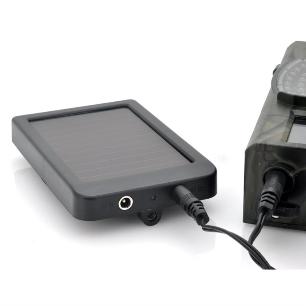 HC300M HC550M G Photo Traps Hunting Game Camera Battery Solar Panel Charger External Solar Power Panel