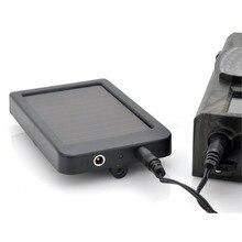 HC300M HC550M/G фото-ловушки охотничья игровая камера батарея Солнечная Панель зарядное устройство Внешняя Солнечная панель питания для камеры Wild Trail