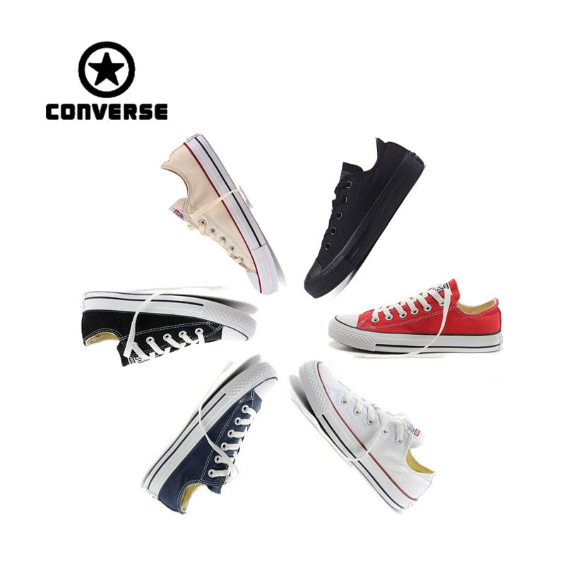 Authentic Converse Classic Breathable Canvas Low-Top Skateboarding Shoes Unisex Anti-Slippery Sneakers Young Breathable цена 2017