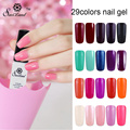 Saviland 1pcs UV&LED Gel Color UV Gel Polish Long Lasting 29 Colorful Shiny Gel Nail Art for Nail Manicure