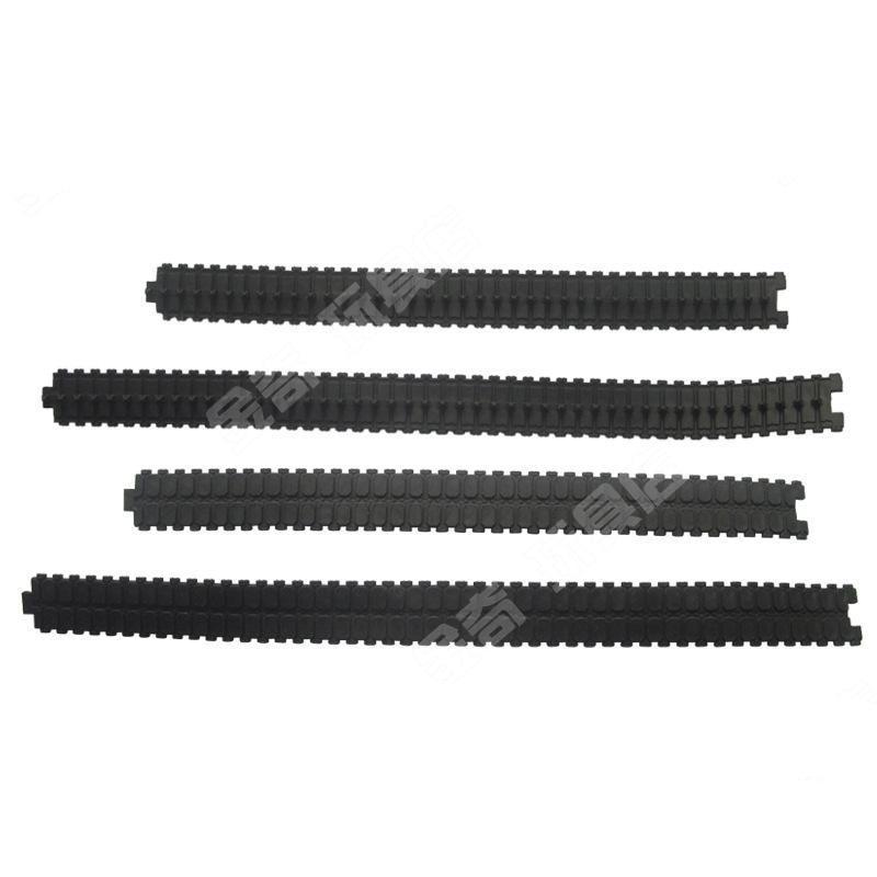 2pcs opened rubber tank track/tank model rc hot wheel DIY robot crawler/Track Tire/DIY model accessories/technology model parts мухаммад таки джа фари благоразумная жизнь