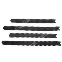2 قطعة فتح المطاط المسار خزان/خزان نموذج rc yuanmbm DIY روبوت الزاحف/المسار الإطارات/DIY الملحقات نموذج/التكنولوجيا نموذج أجزاء