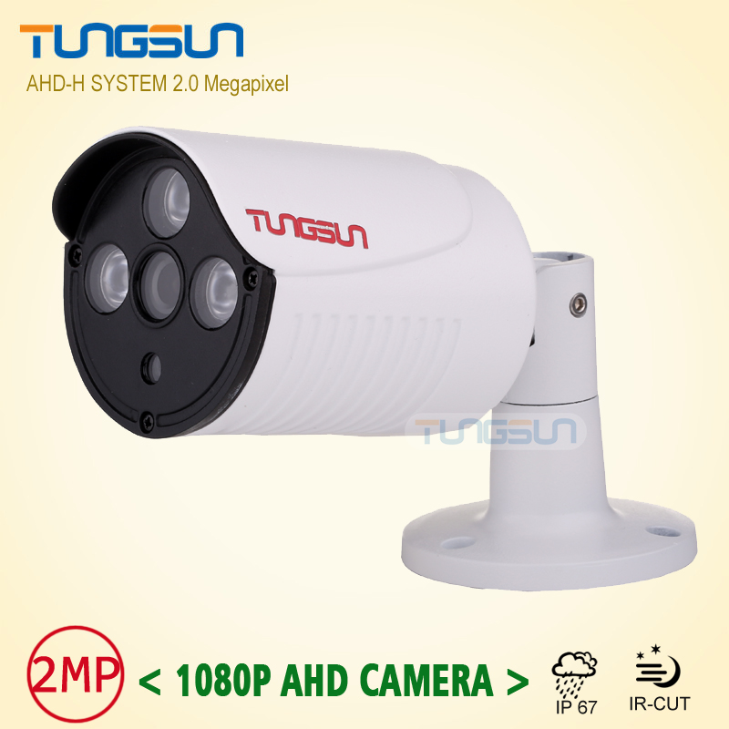 2MP HD 1080P AHD Camera Security Metal Bullet Video Surveillance Waterproof Array infrared Night Vision CCTV Camera