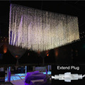 outdoor connectable 3x3m led wedding string light led fairy light christmas garland garden party wedding decorative light