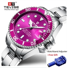 Brand TEVISE Quartz Women Watches Waterp