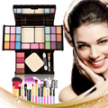 Superstar 25 Color Makeup Contour Palette Combination and 7 PCS Makeup Brush GUB#