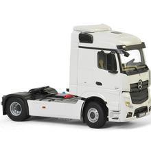 Коллекционная модель сплава подарок WSI 1:50 Масштаб BENZ ACTROS MP4 поток пространство 4x2 тег ось для трактора, прицепа, грузовика литья под давлением модель игрушки