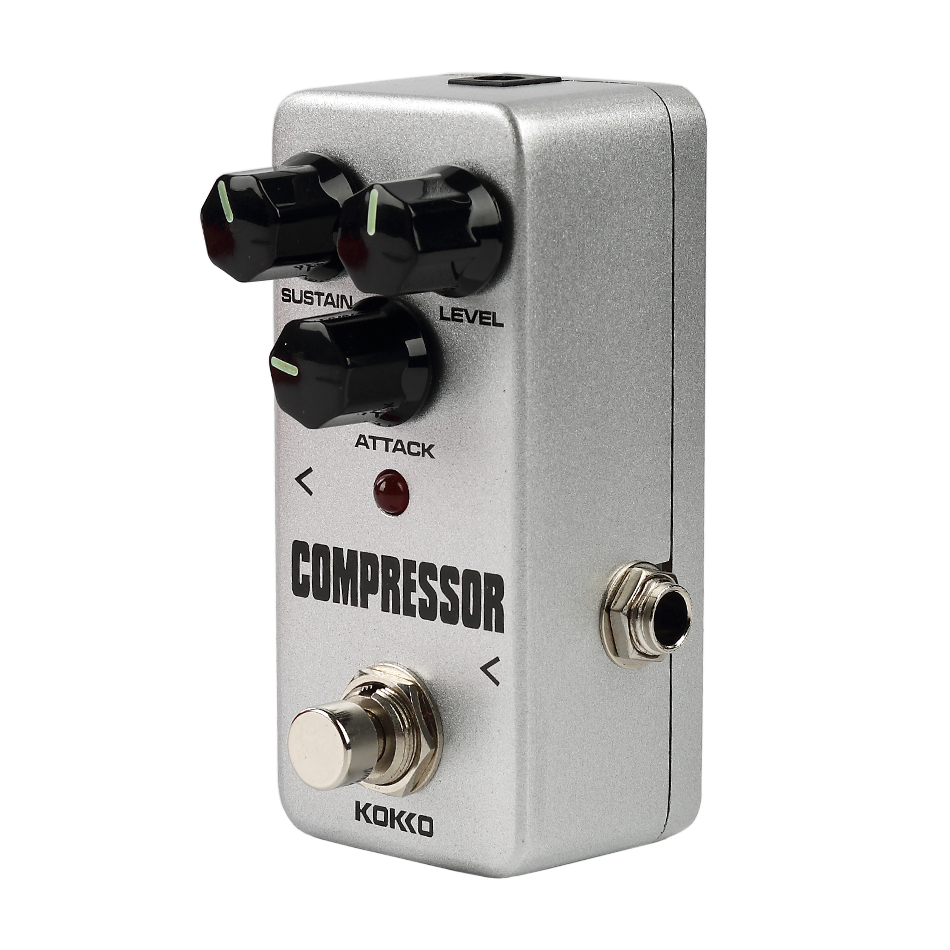 kokko fcp2 mini compressor effect pedal compressing guitarra effect pedal stompbox ture bypass. Black Bedroom Furniture Sets. Home Design Ideas