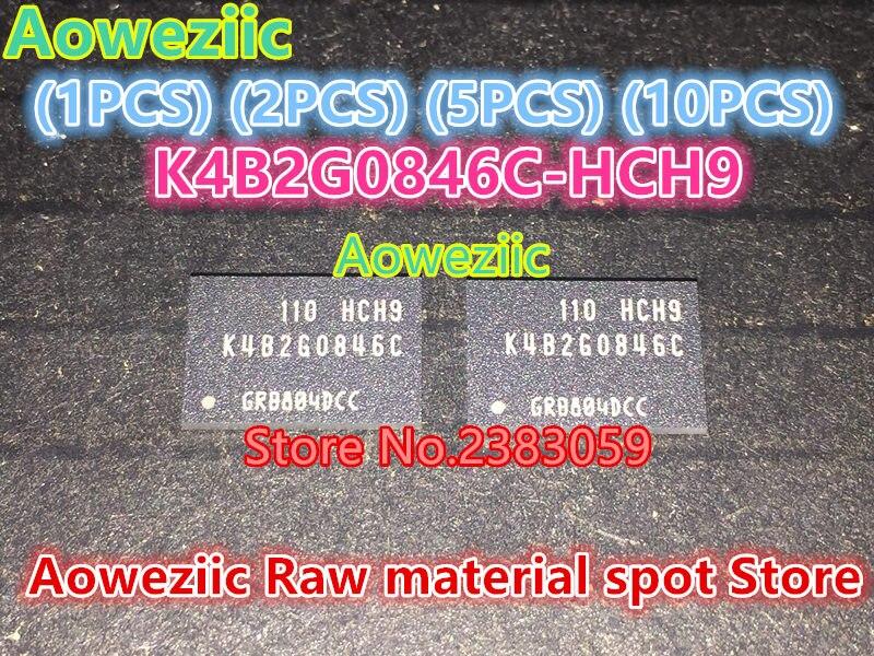 Aoweziic (1PCS) (2PCS) (5PCS) (10PCS) 100% new original K4B2G0846C-HCH9 BGA memory chip K4B2G0846C HCH9 aoweziic 1pcs 2pcs 5pcs 10pcs 100% new original klmag2geac b001 bga memory chip klmag2geac b001 emmc font 16gb