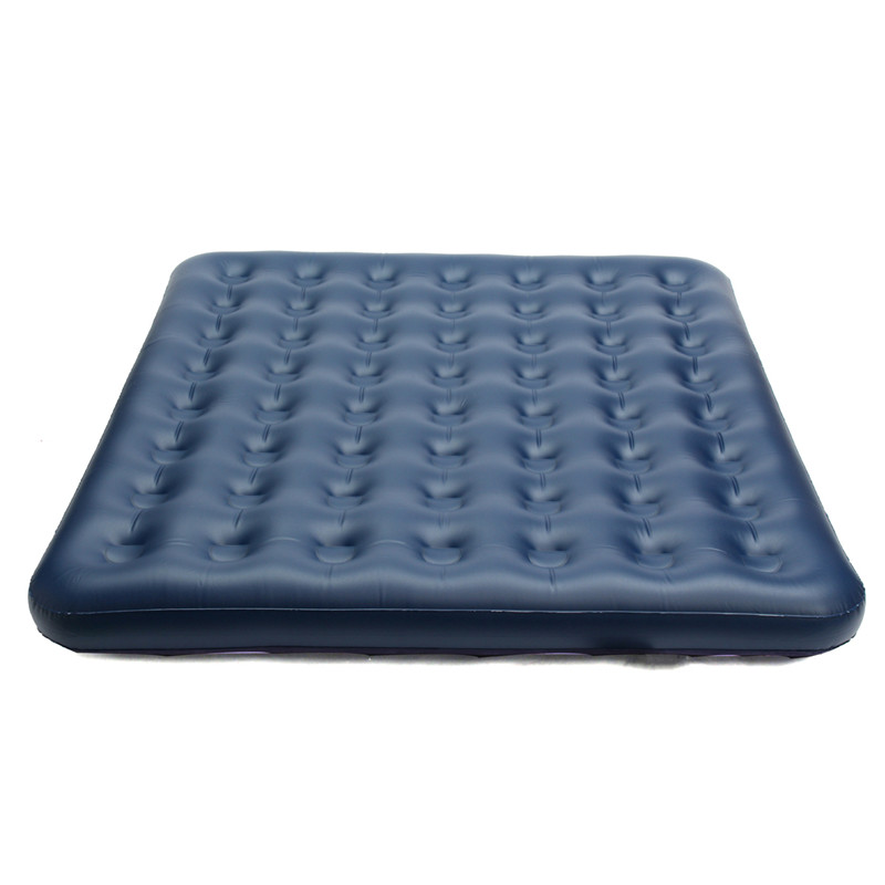 Brand NEW Air Mattress Inflatable Downy Sleeping Bed Camping Durable Flocked PVC Camping Mat For Outdoor Sports durable thicken pvc car travel inflatable bed automotive air mattress camping mat with air pump