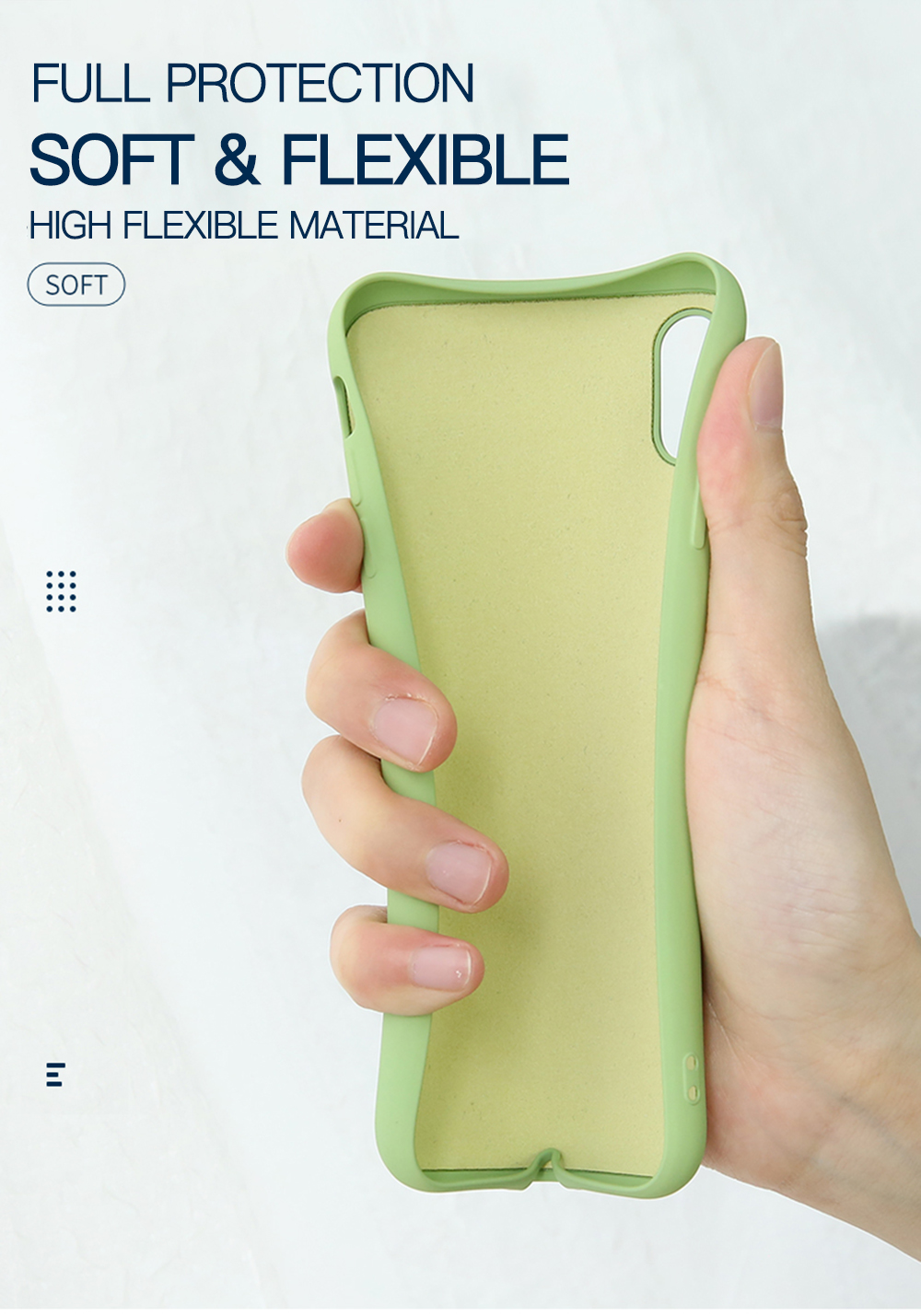 Soft silicone iphone 11 case