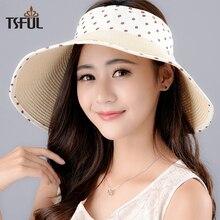 Señora nueva moda sol sombrero mujeres exterior recorrido sol sombrero  estudiantes verano visera paja rafia sombreros de playa s. bc860cfe805