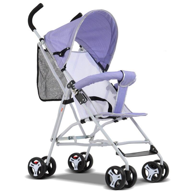 Children umbrella stroller BB car deck and easy to carry baby four baby stroller baby carriage on aircraft