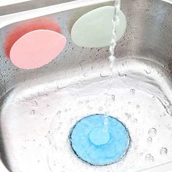 Kitchen Rubber Bath Tub Sink Floor Drain Plug Kitchen Laundry Water Stopper Tool Sewer Deodorant Cover Silicone Floor Drain Plug spülbecken sieb
