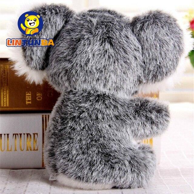 16 CENTIMETRI Nuovo Arrivo Super Cute Piccolo Koala Orso di Peluche Giocattoli Avventura Koala Bambola Di Compleanno Regalo Di Natale PT024 2