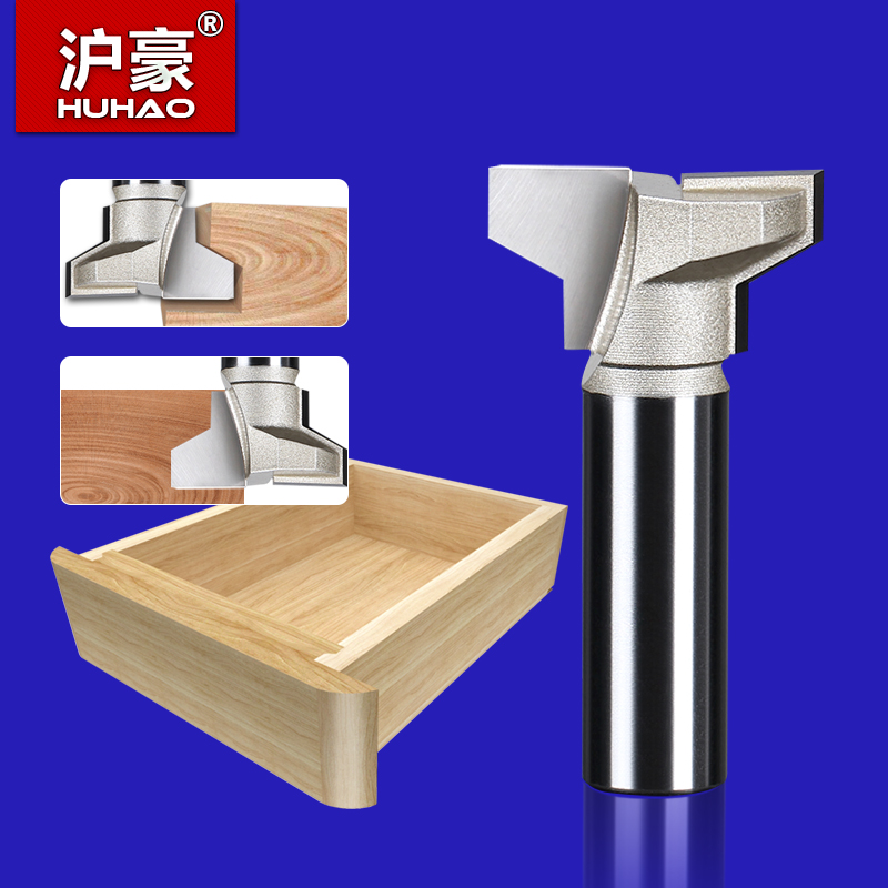 Dovetail Straight T-Slot Arden Router Bit 1/4*5/8 HUHAO 6617 woodworking tool metric flute arden straight bit 1 2 36mm 1 2 shank arden a0114648