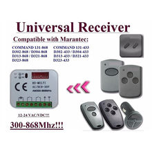 10pieces receiver for Marantec 433,92Mhz and 868,3Mhz remote controls Very good(China)