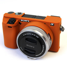 Мягкая силиконовая резина Камера защитный чехол кожи чехол для SONY Alpha A6300 ILCE-6300 кожа Камера Сумка Объектив сумка из неопрена