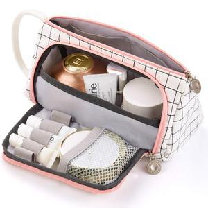 Пенал, канцелярский мешок, держатель для ручки, школьные принадлежности, офисный, студенческий, для девушек, рождественский подарок, белый клетчатый канцелярский мешочек